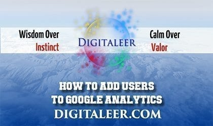 How To Add Users To Google Analytics