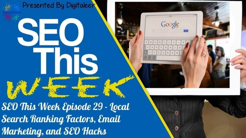 SEO This Week Episode 29