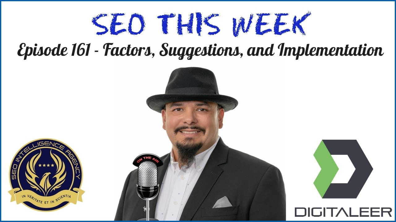 SEO This Week Episode 161