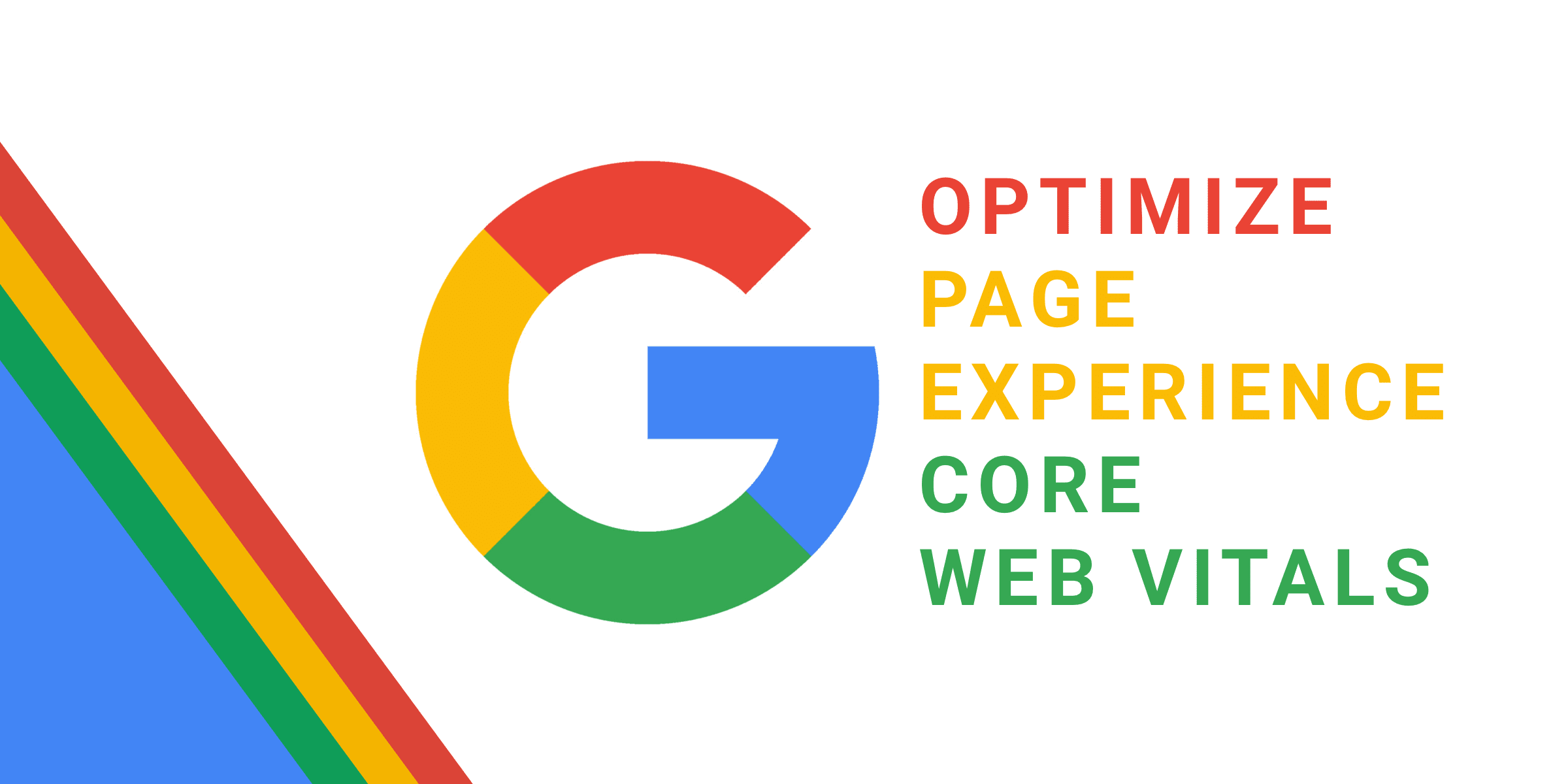 Optimize Website – Page Experience – Core Web Vitals