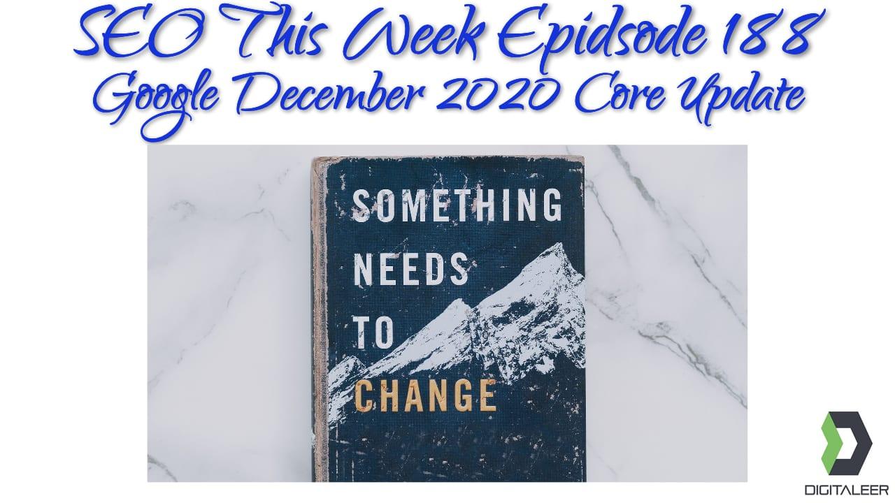 SEO This Week Episode 188